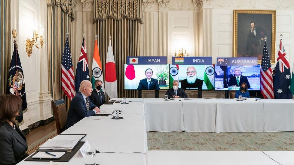 """""""India's formidable vaccine production will be expanded with support from Japan, US and Australia,"""" PM Modi tweeted."""