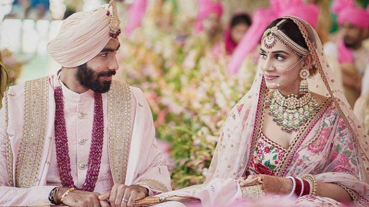 Jasprit Bumrah & Sanjana Ganesan Tie the Knot in Private Ceremony
