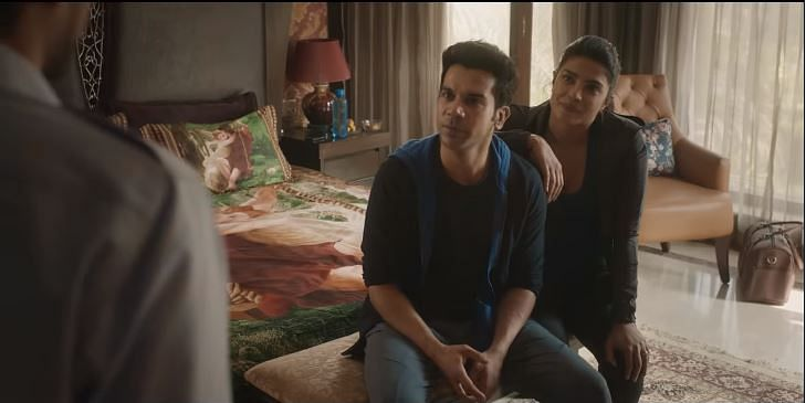 Rajkummar Rao and Priyanka Chopra in 'The White Tiger'