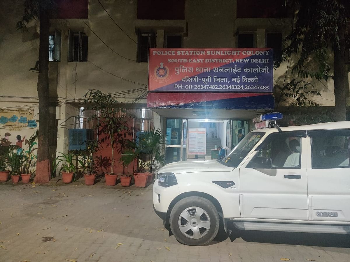 This is the Sunlight Colony police station where the families met for counselling by the police, hours before the mob attack.