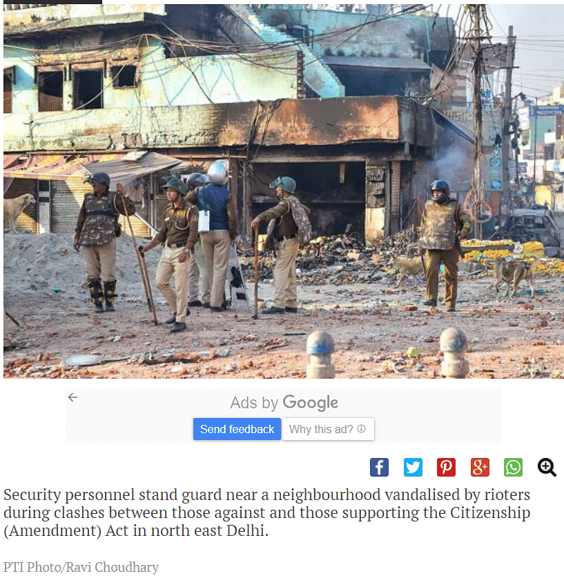 Old Pics of Violence in Delhi, Bhainsa Revived With False Context