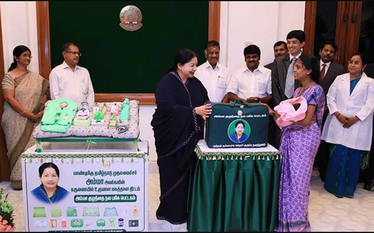 Jayalalithaa had named several free and heavily subsidised products and services after Amma.