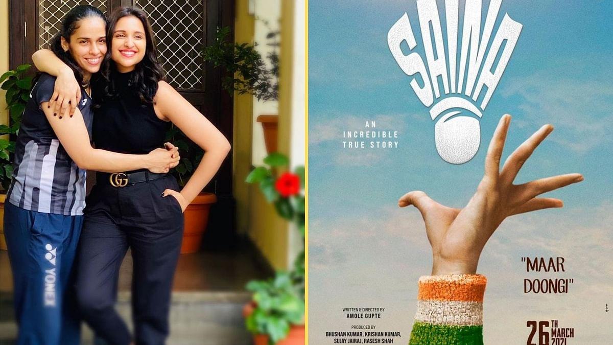 <p>Parineeti Chopra will play Saina Nehwal in her biopic.</p>