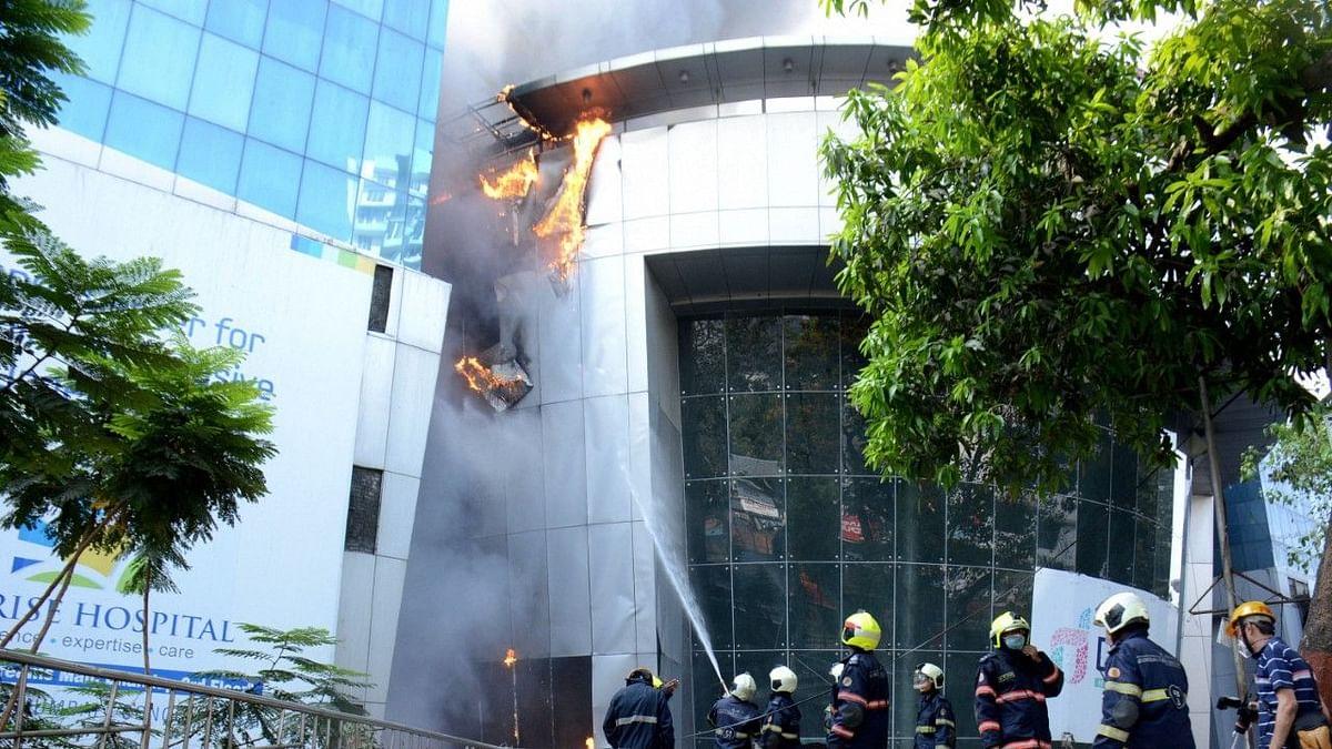 Mumbai Hospital Fire:  11 Dead, CM Seeks Forgiveness From Kin