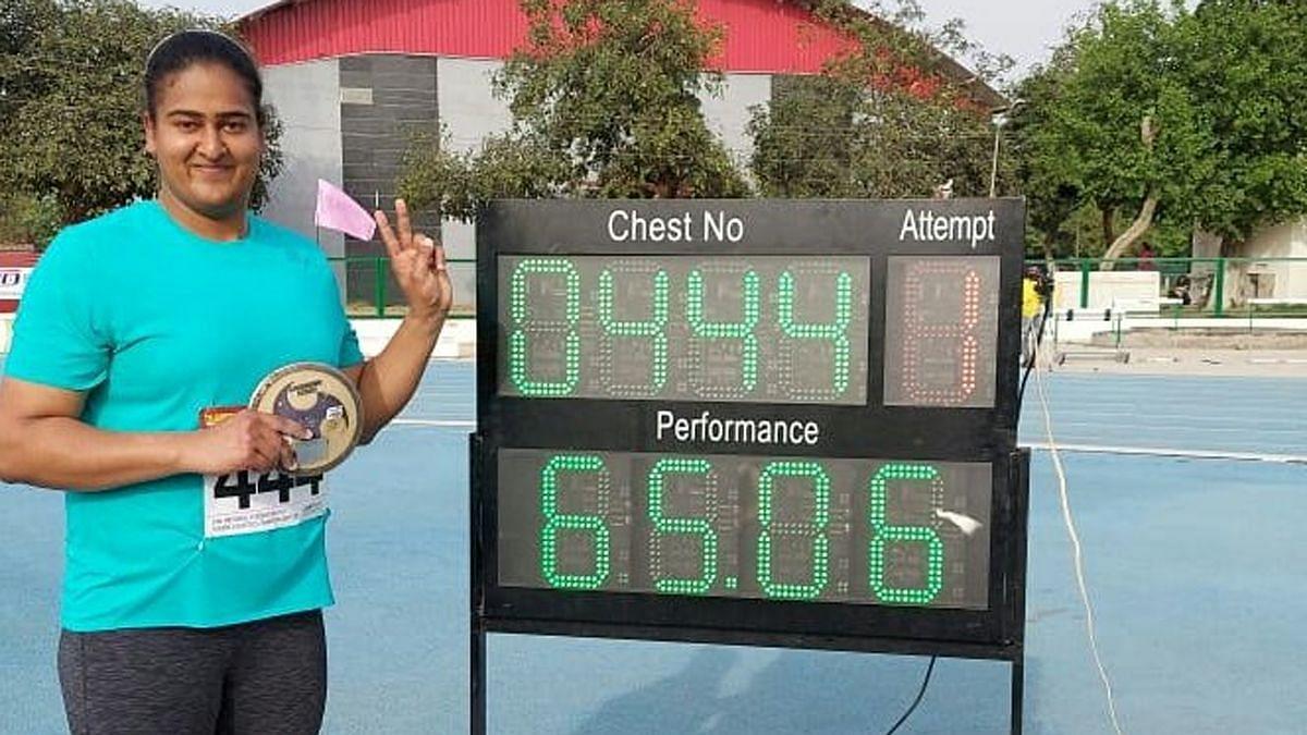 Kamalpreet Kaur Breaks National Record and Fulfils Olympic Dream