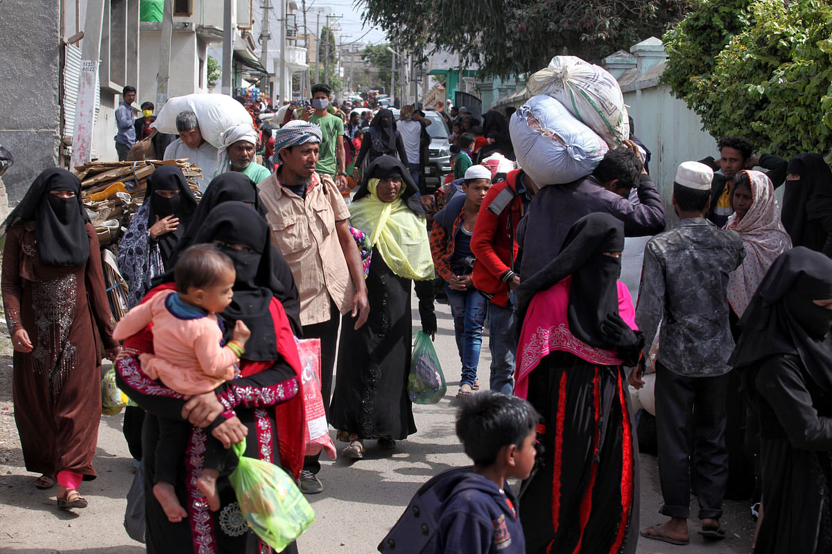 Rohingyas have been a displaced community which moved from the Myanmar region to Jammu and Kashmir.