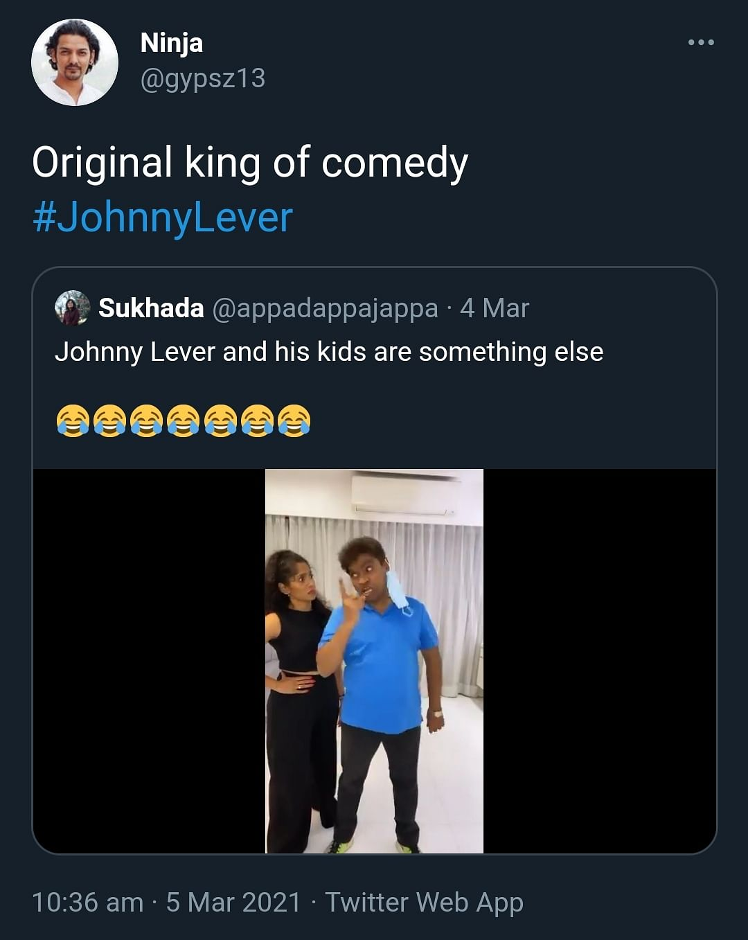 Watch: Johnny Lever and His Kids Shake a Leg in Viral Video