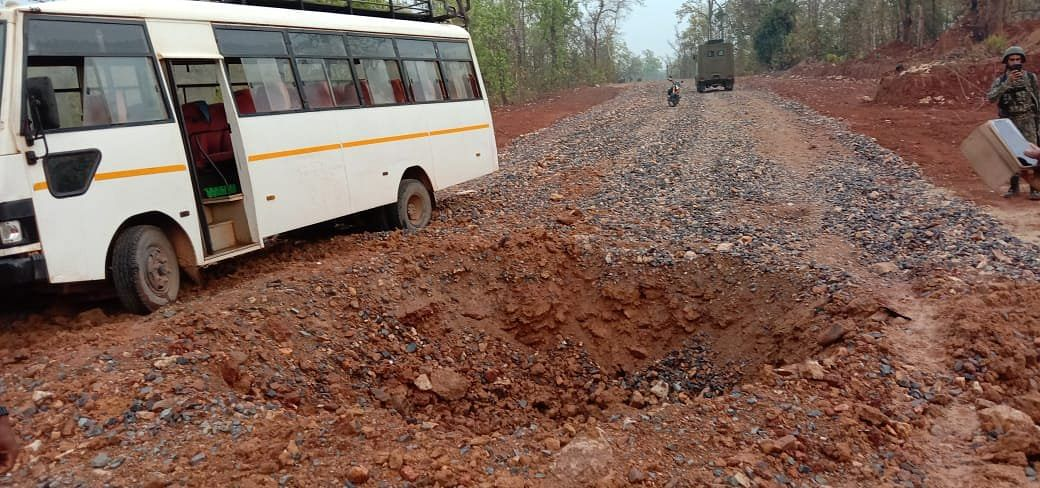 5 Security Personnel Killed in IED Blast by Naxals in Chhattisgarh