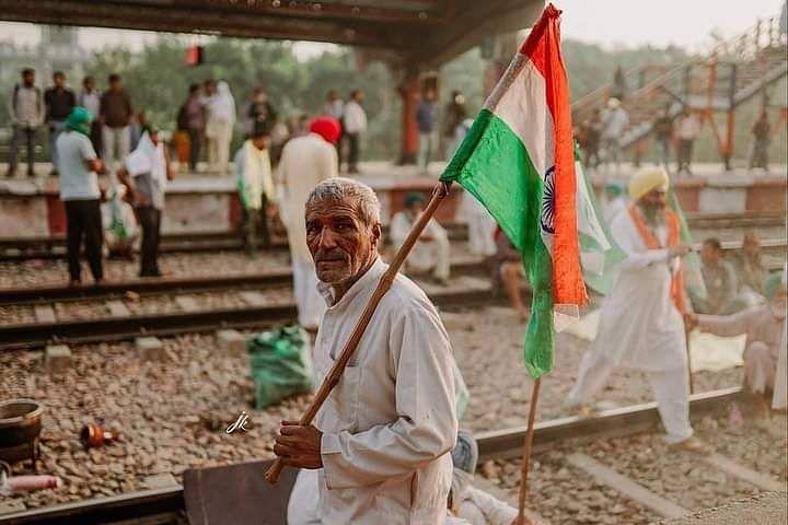 Bharat Bandh: Bahadurgarh Railway Station
