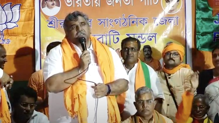 """""""In TMC, it was no longer possible to work for the party,"""" Tiwari said after joining the BJP."""