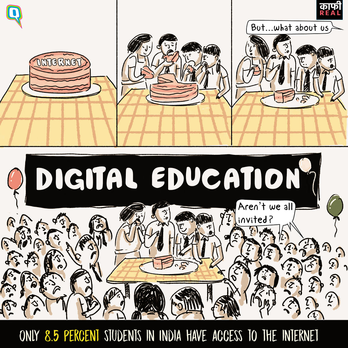 Kaafi Real: Not All Kids Get a Piece of the Digital Education Pie