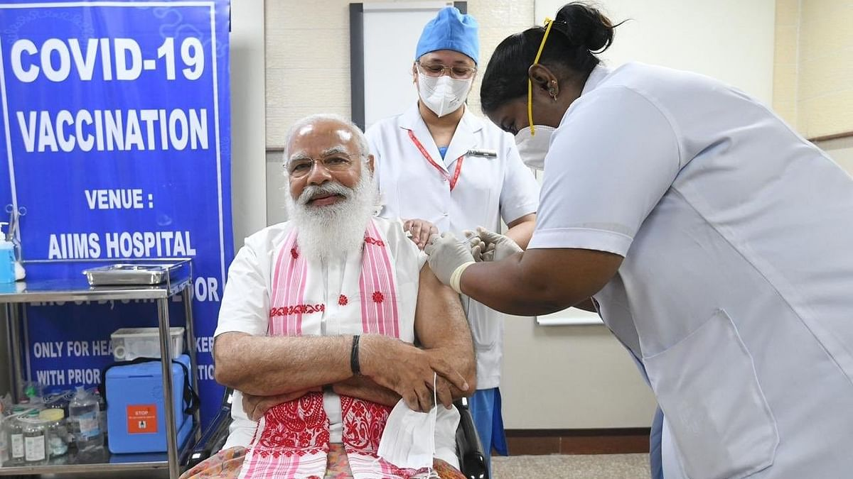 After PM Modi's Inoculation, India's Vaccine Drive Jumps 4-Fold