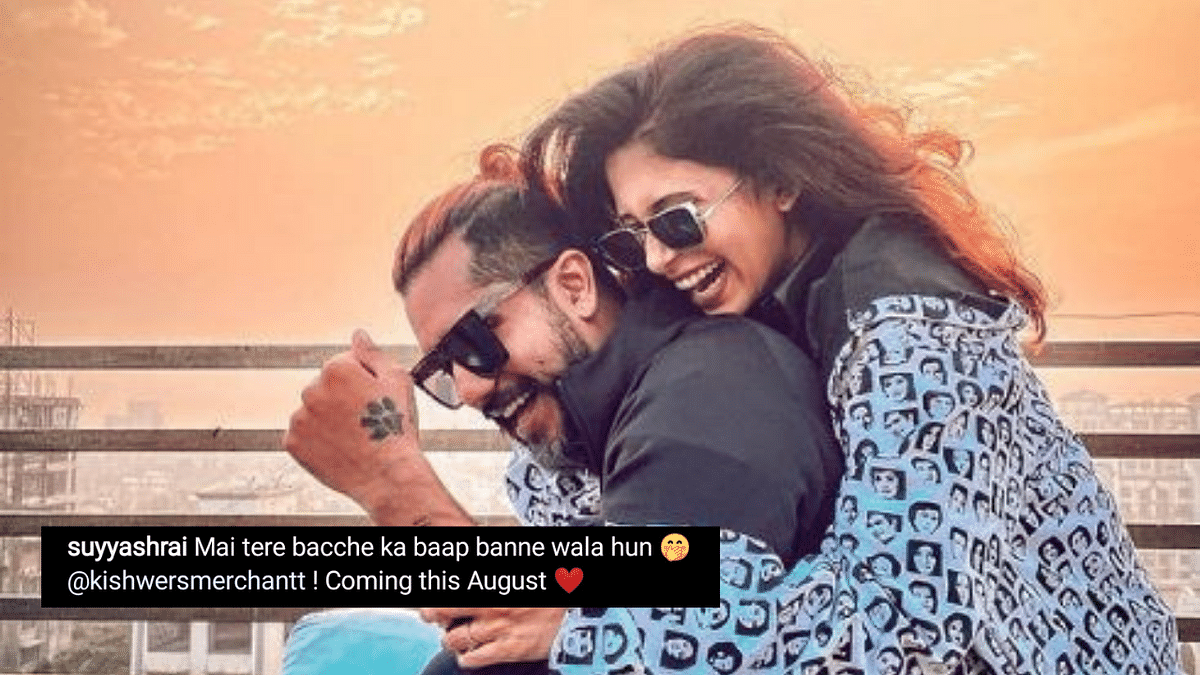TV couple Kishwer Merchant and Suyyash Rai set to become first time parents