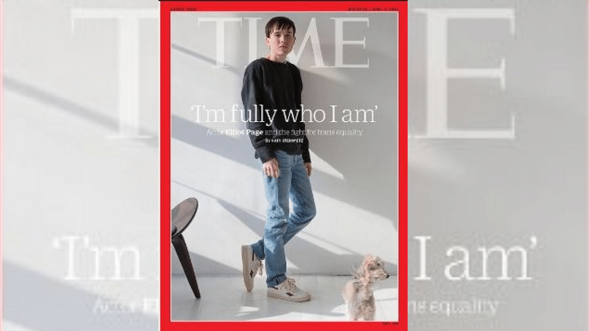 Actor Elliot Page Becomes First Trans Man To Appear on Time Cover