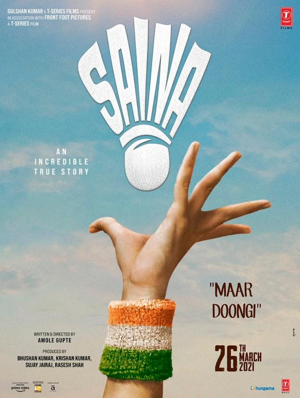 First Poster & Release Date of Parineeti-Starrer 'Saina' Out