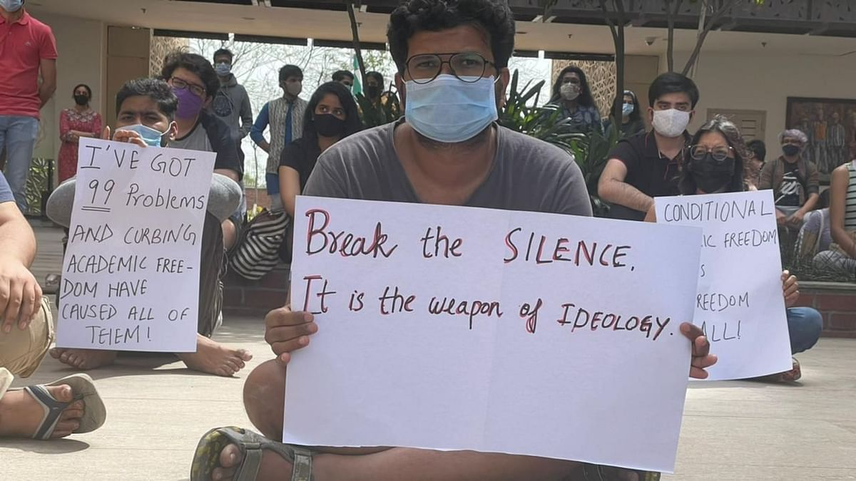 'Break Silence': Ashoka Univ Students Protest After PB Mehta Quits