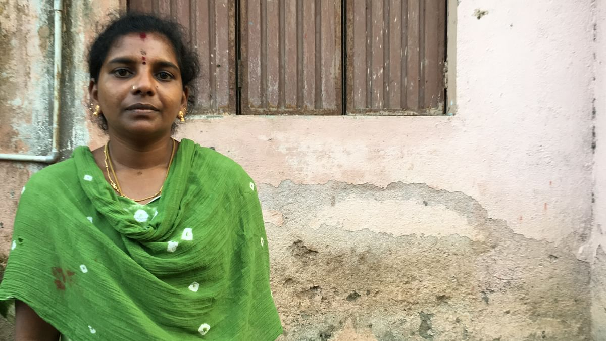 Rathi is a domestic worker living in Chennai.