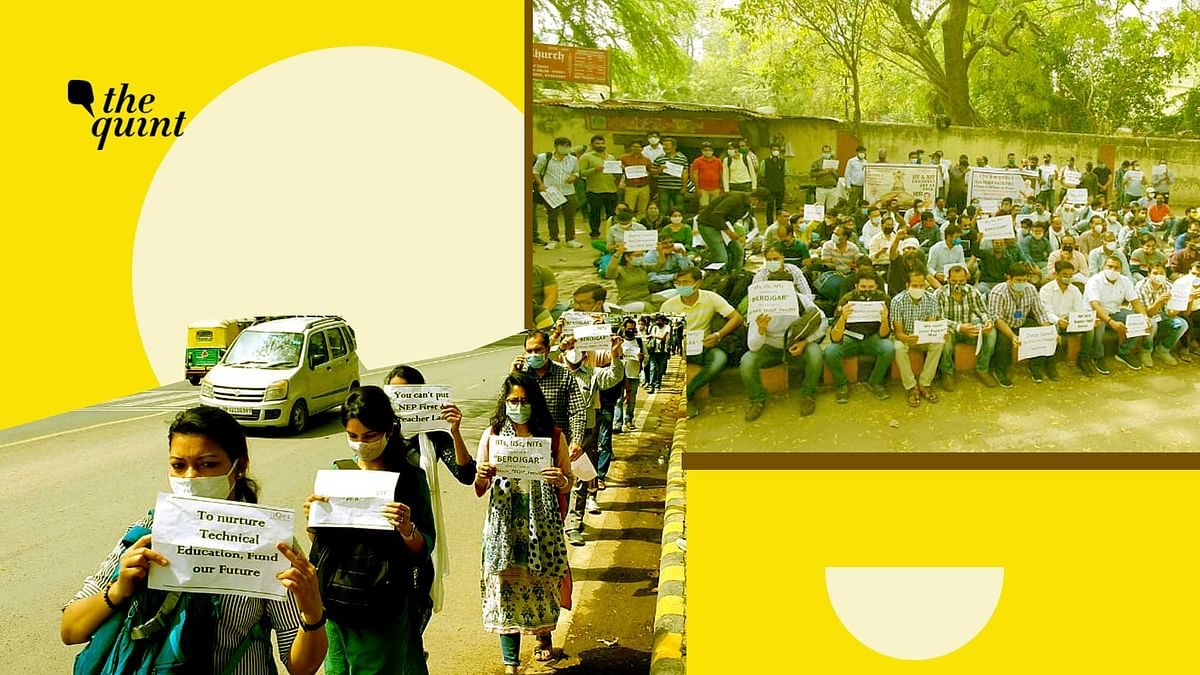 Over 1,500 Professors To Be Jobless in a Week, 500 March To Delhi