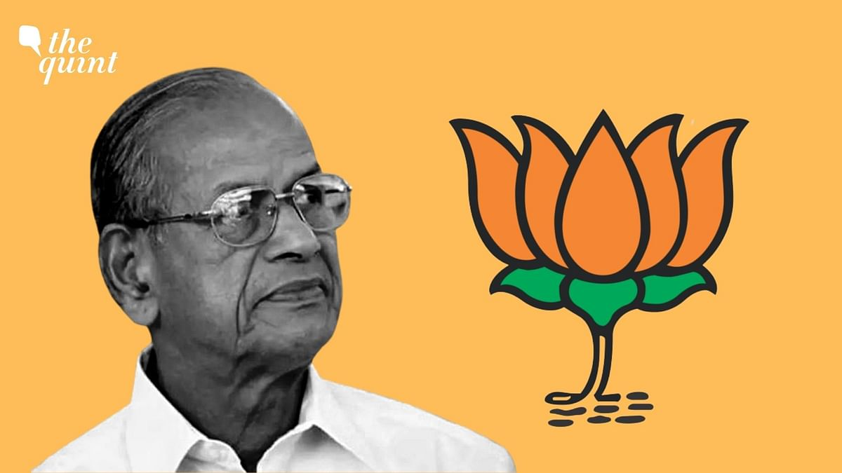 'Metro Man' E Sreedharan joined BJP a few weeks ago.