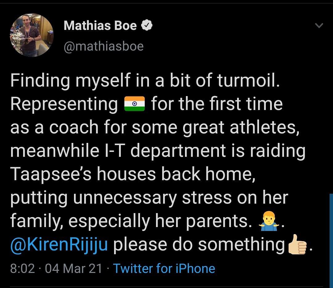Nirmala Sitharaman, Taapsee's Boyfriend React to IT Raids