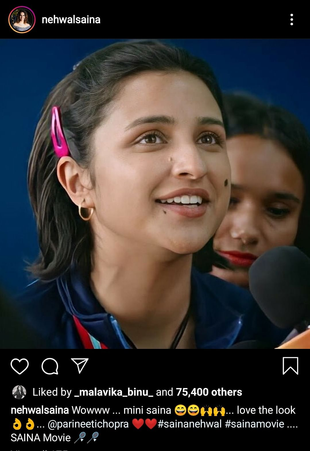 'Love the Look': Saina Nehwal Praises Parineeti in & as 'Saina'