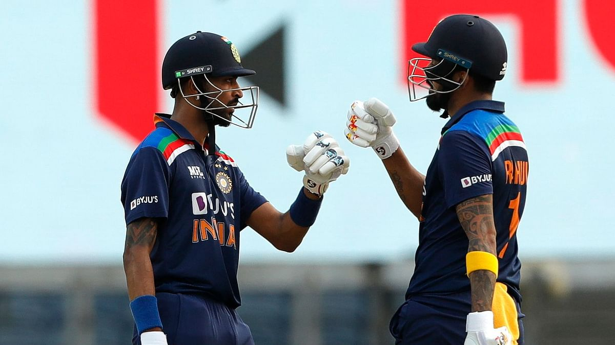India posted 317/5 after being put into bat first by England in the ODI series-opener in Pune.