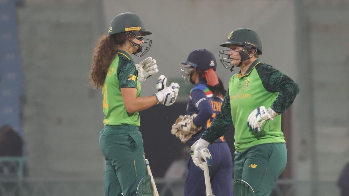 Needing six off last two balls, Arundhati Reddy bowled a no ball which changed the complexion of the game as Laura Wolvhaardt took the team home in the last ball.