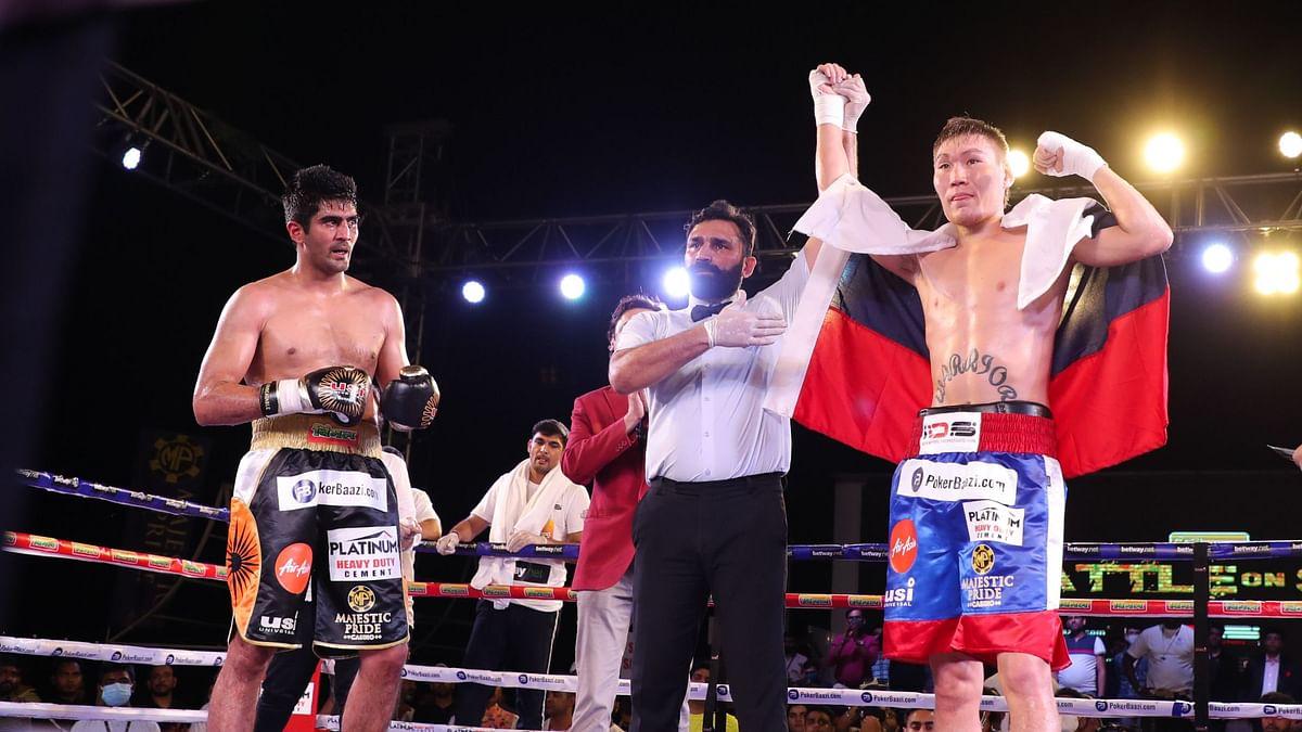Vijender Singh's Unbeaten Run in Pro Boxing Finally Ends, in Goa