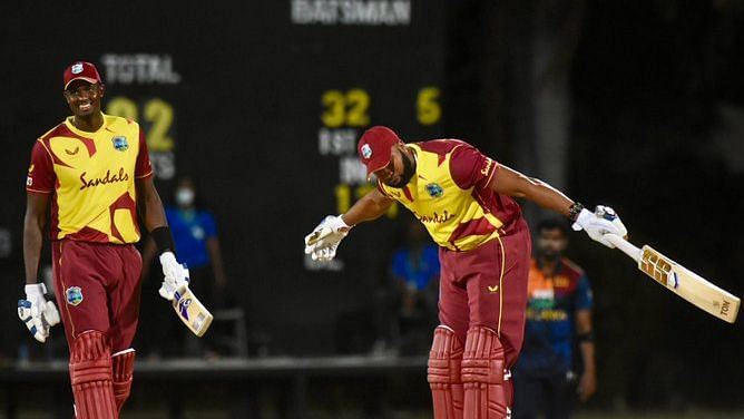 Watch: Kieron Pollard Smashes 6 Sixes in an Over Against Sri Lanka