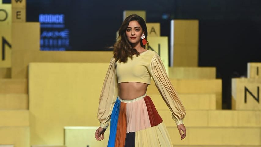 In Pics: Ananya Panday Dazzles in Sachdeva's Design at LFW