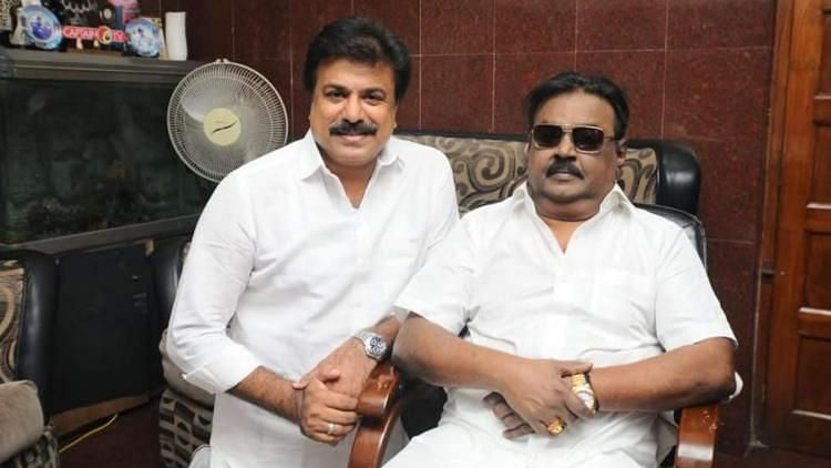 'Our CM Vijayakant': DMDK Hints at Contesting Alone in TN Polls