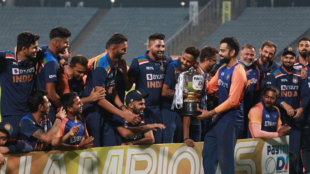 Virat Kohli's Indian team won the ODI series against England 2-1.
