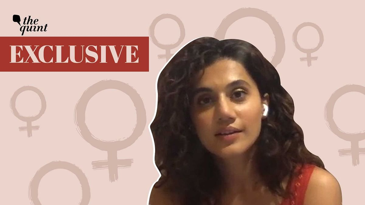 Taapsee Pannu in a candid chat with <b>The Quint</b>.
