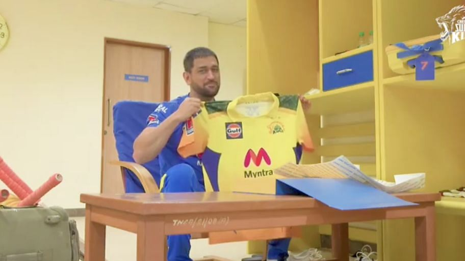 Chennai Super Kings' IPL 2021 jersey pays an ode to the Indian armed forces.