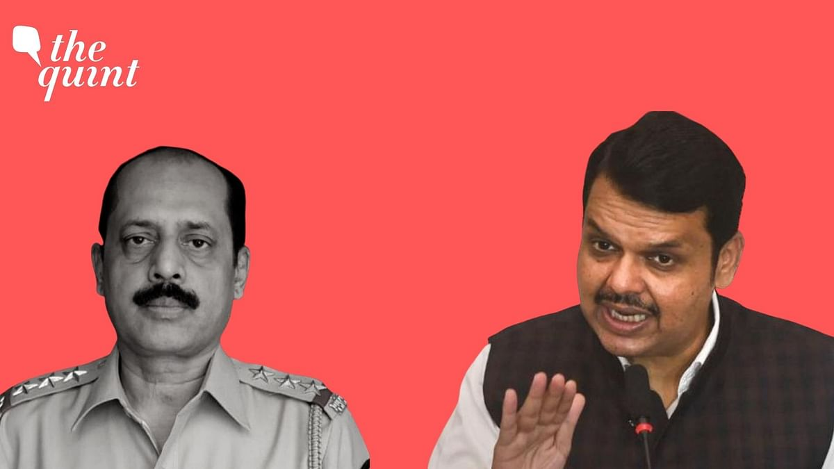 "BJP leader Devendra Fadnavis on Wednesday, 17 March, said that Mumbai top cop Sachin Vaze's ""political bosses"" must be found."