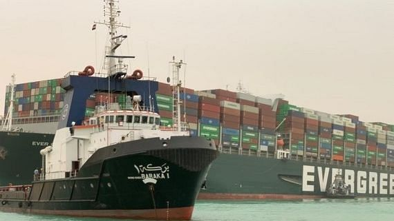 Entire Crew of Ship 'Ever Given' Stuck in Suez is Indian, All Safe