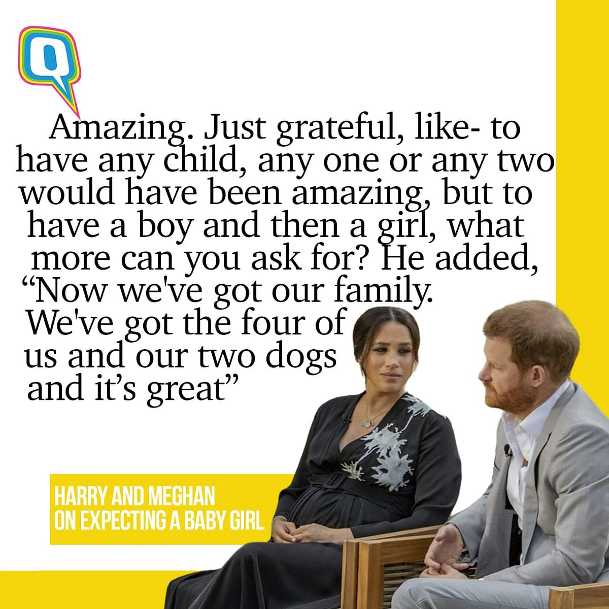 All The Key Quotes from Meghan & Harry's Interview With Oprah