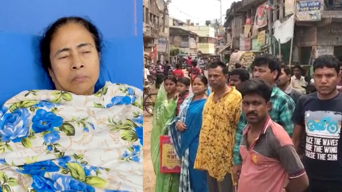 WB Polls: BJP and TMC Supporters Cry Foul Over 'Attack' on Mamata