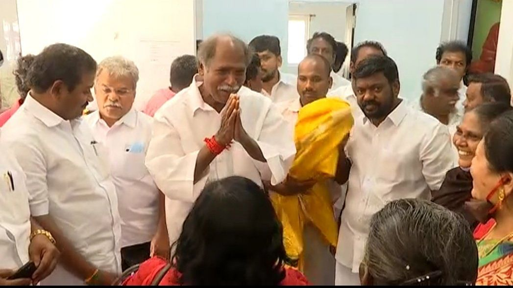 NR Congress-AIADMK-BJP Alliance Sealed in Puducherry