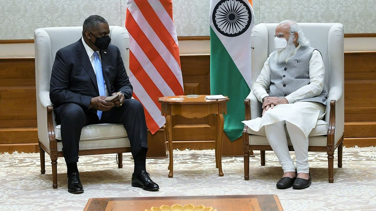 Prime Minister Narendra Modi on Friday, 19 March, met United States (US) Secretary of Defence Lloyd Austin and conveyed his best wishes for US President Joe Biden.