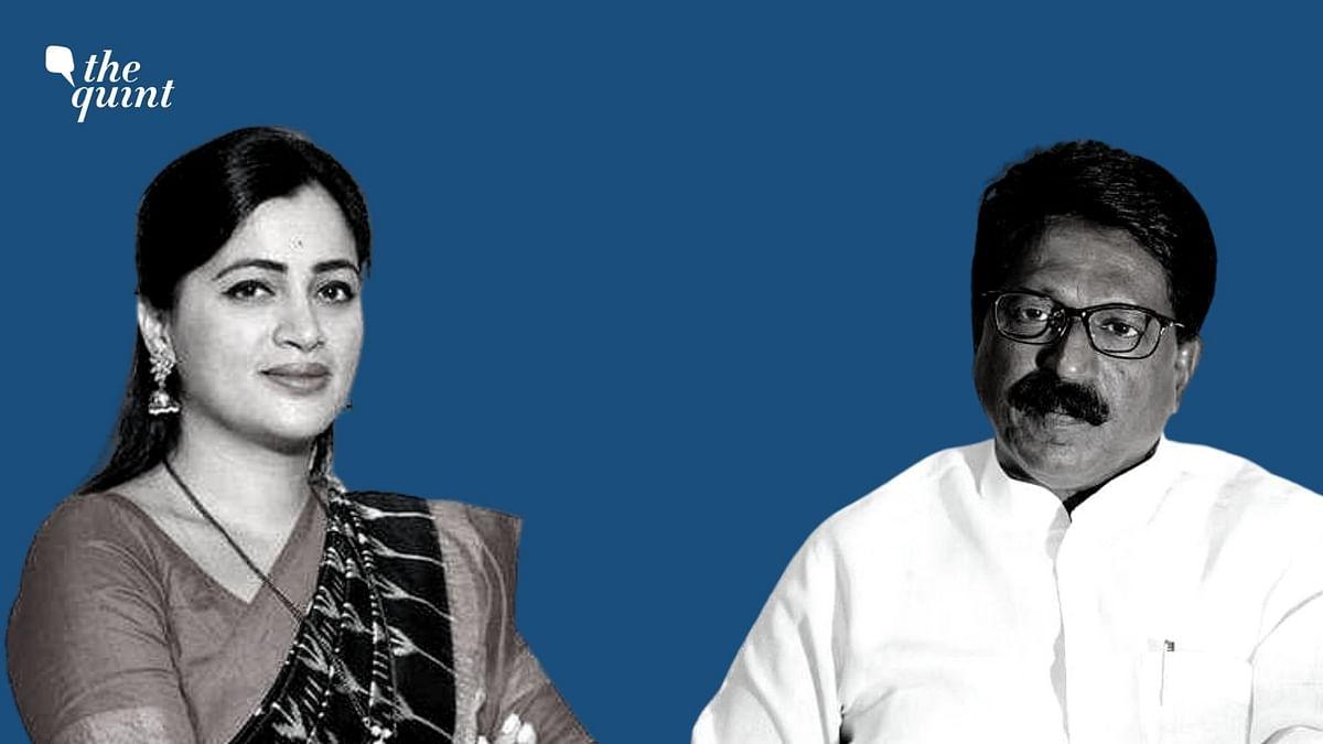 Navneet Rana (left) and Arvind Sawant