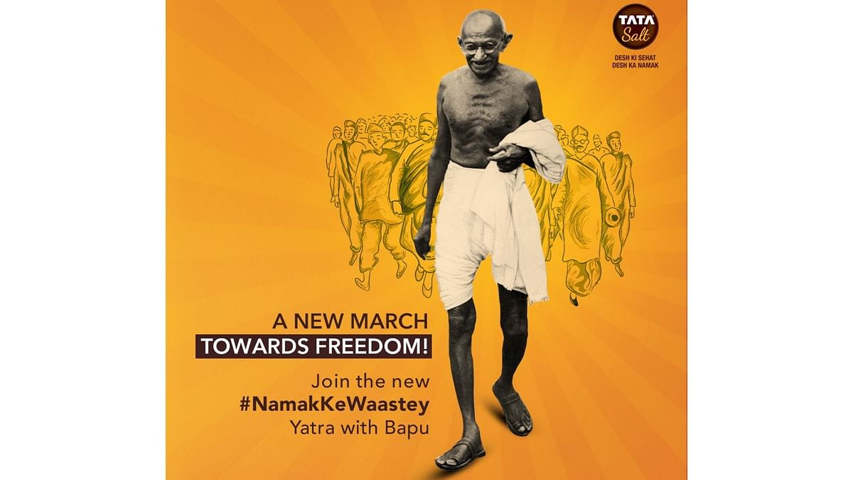 91 Years After Dandi, Gandhiji Urges You To March Against COVID-19