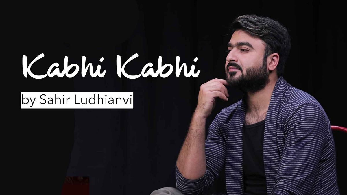 Remembering Sahir Ludhianvi With the Original 'Kabhi Kabhi' Ghazal