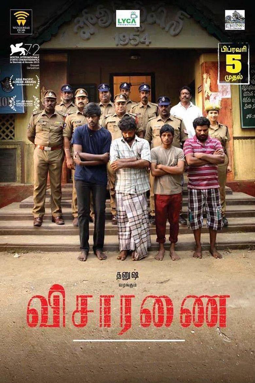 A poster of the Tamil film <i>Visaranai.</i>