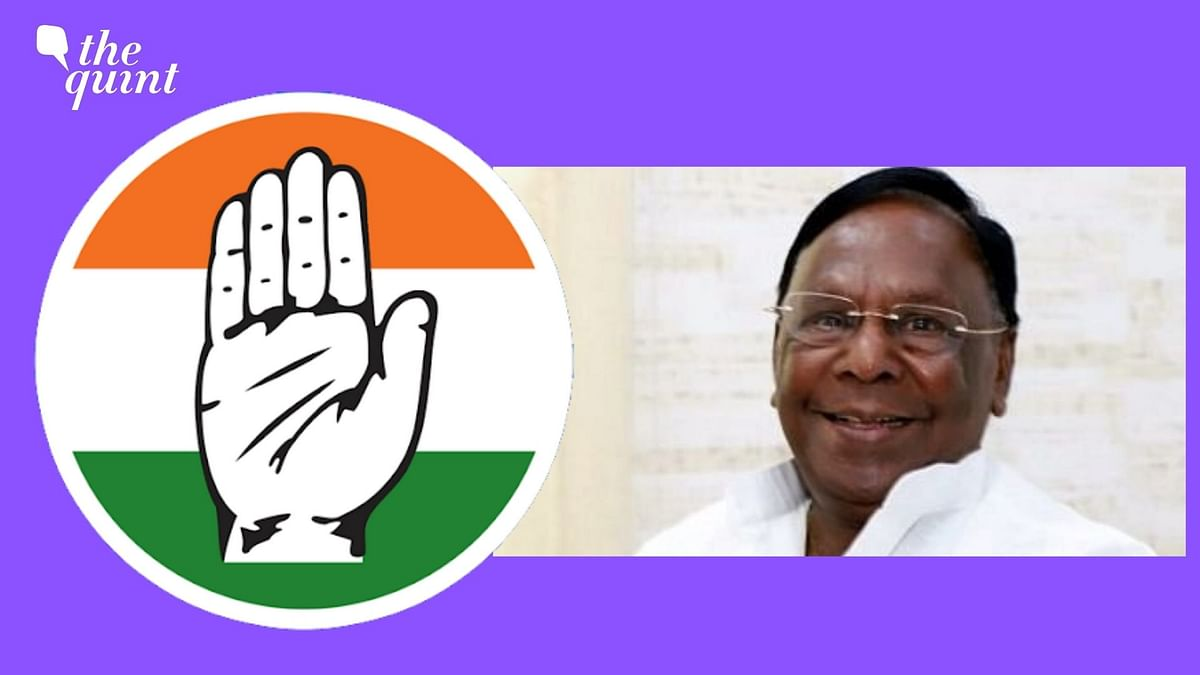 Ex-Puducherry CM V Narayanasamy Won't Contest Upcoming Polls: Cong