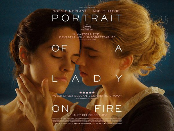 A poster of <i>Portrait of a Lady on Fire</i>.