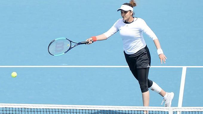 Sania Mirza returned to competitive action in the Qatar Open with a win.