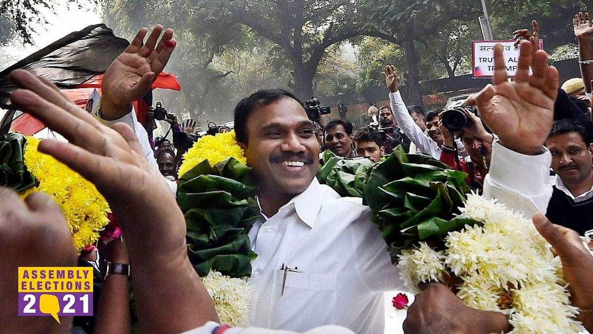 DMK MP A Raja