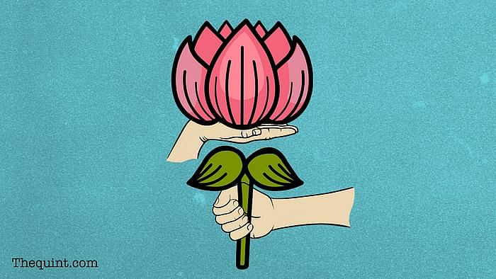 BJP's 41st Foundation Day: Creative interpretation of the party's symbol, lotus, is for representation purposes only.