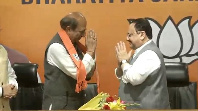 Former Trinamool Congress (TMC) MP and former Railway Minister Dinesh Trivedi joined the Bharatiya Janata Party (BJP) in the presence of party president JP Nadda on Saturday, 6 March.